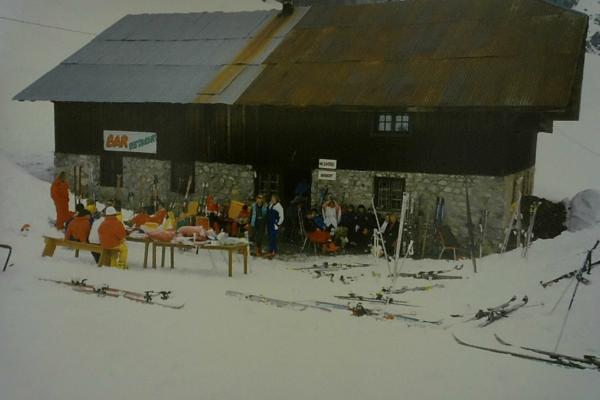 1986 - challenge ski station de Burzier
