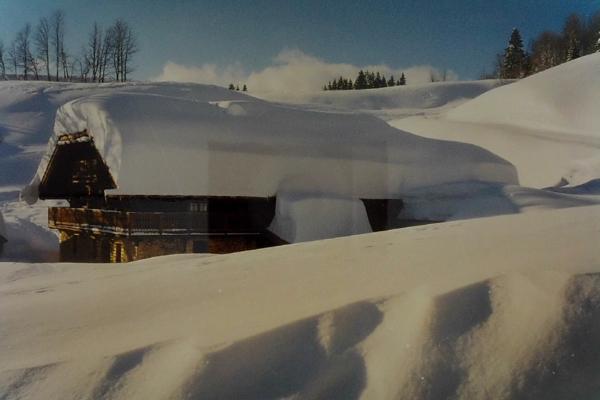 1999 - hiver grosse neige