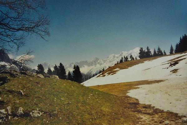 1992 - la vue du panorama avant les travaux d'amélioration