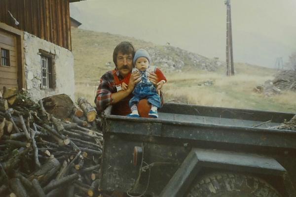 1986 - patrick et Damien au Tornieux 86
