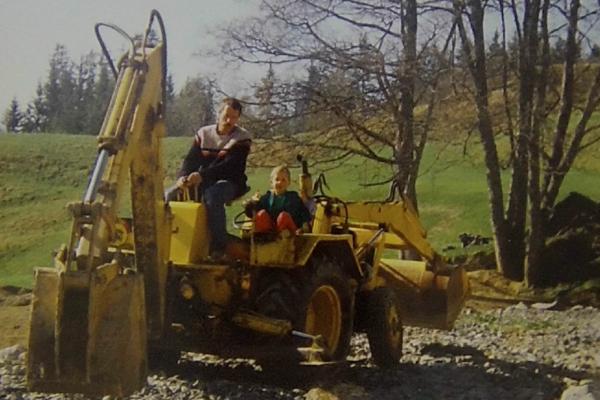 1992 - patrick et Damien construction parking