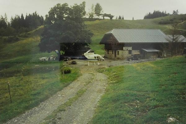 1992 - premiere dépose hélicoptère